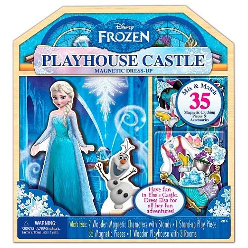 Disney Frozen 35-Piece Wooden Playhouse Castle