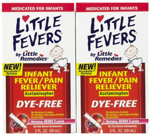 Little Remedies Fever/Pain Reliever, Infant, Natural Berry Flavor 2 fl oz (59 ml)