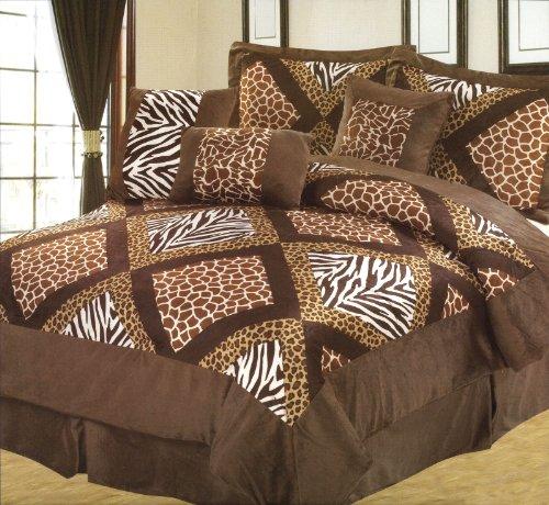 Giraffe Print Comforter Set front-1053636