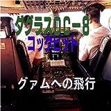 ダグラスDC-8コックピット グアムへの飛行