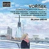 Vo?í?ek: Complete Works for Piano, Vol. 2