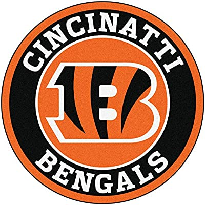 Fan Mats NFL Cincinnati Bengals Roundel Mat