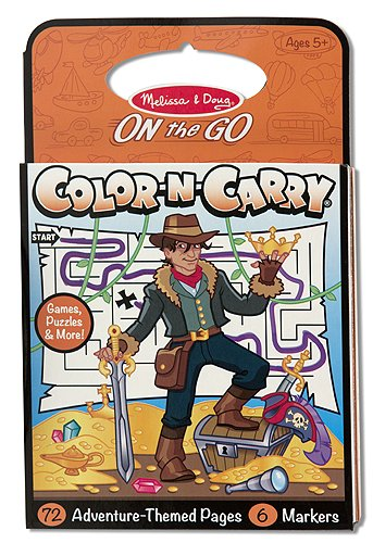 Adventure: Color-n-Carry Coloring Book - 1