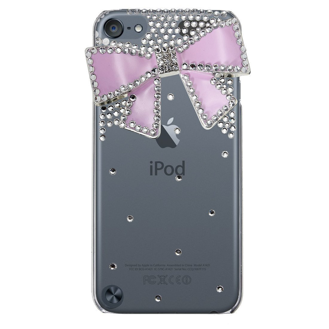 Hard PC Back Case for iPod Touch 5 Custom Design 003 touch back