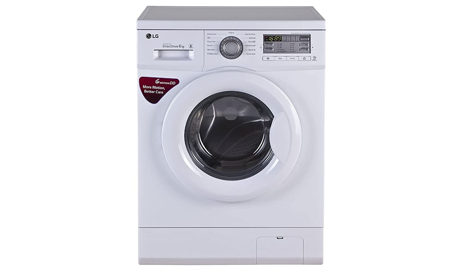 LG FH0B8NDL2 Fully-automatic Front-loading Washing Machine (6 Kg, Blue and White)