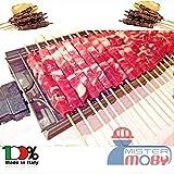 Mistermoby Fornacella Elettrica 40 Spiedini Arrosticini Carne Pane Rosticcera No Fumo Inox