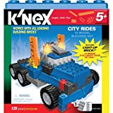 KNex City Rides 10 Model Building Set [128 Pcs]