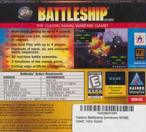 Hasbro Battleship [windows 95/98]