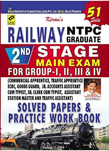 Railway NTPC Grad. 2 nd Stage Main Exam Grp.1,2,3,4 - 908