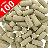 Goodmanns Wine Corks 100 New #9 - 15/16 x 1-3/4 Agglomerated Natural Straight Bottling Cork in Bulk - Non-Recycled Cork Best for Home Wine Making & Homemade DIY Art Craft Supplies - Fits Most Bottles