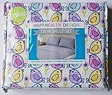 おもちゃ Happiness By Design Twin Sheet Set Girls Baby Bird Chicks [並行輸入品]