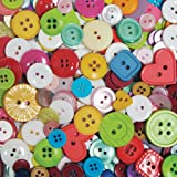 Blumenthal Lansing Company Favorite Findings 4-Ounce Big Bag of Buttons, Multi, Crafts Direct