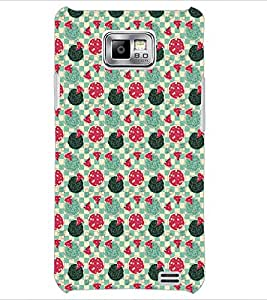 PrintDhaba Pattern D-5369 Back Case Cover for SAMSUNG GALAXY S2 (Multi-Coloured)