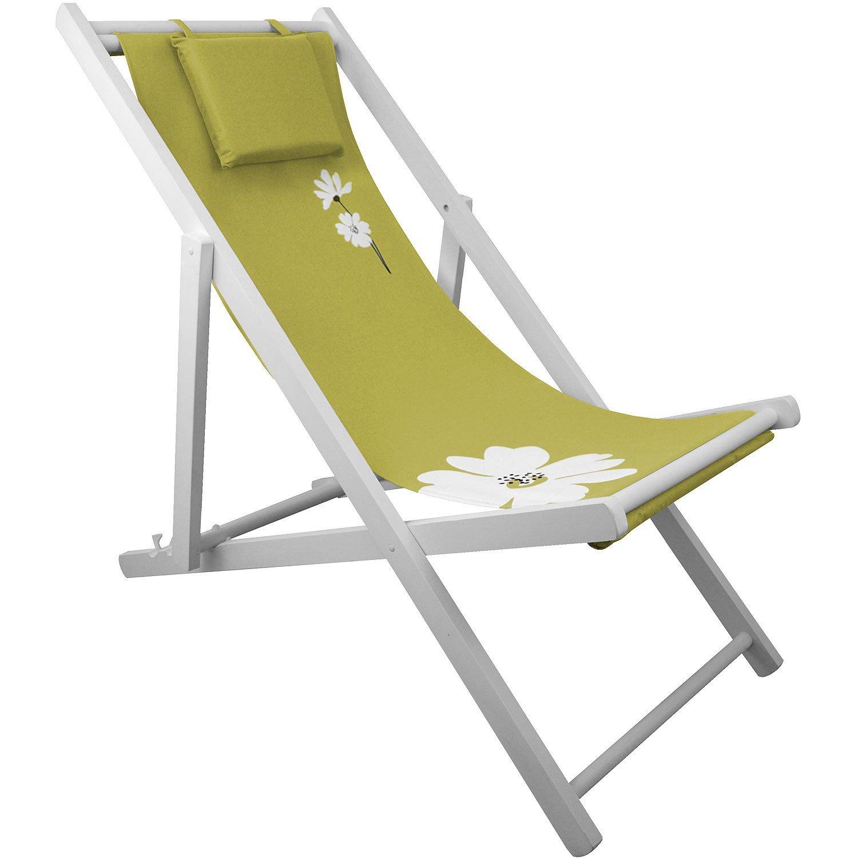 Liegestuhl 4-fach verstellbar Campingstuhl Strandstuhl Gartenstuhl Klappstuhl Strandliege Campingliege – Grün online kaufen