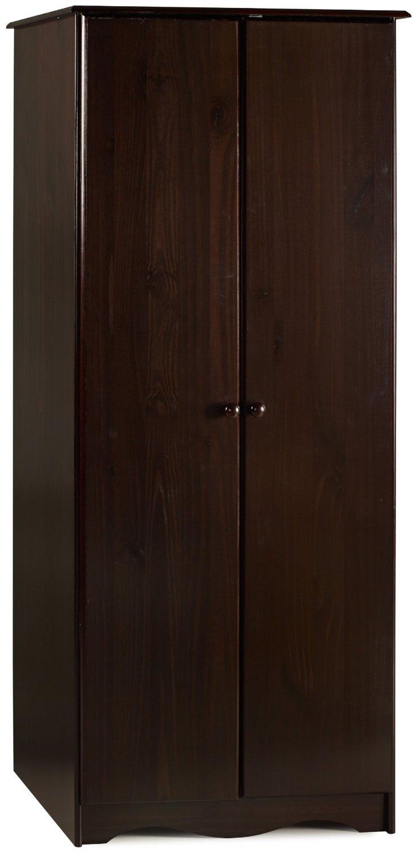 Solid Wooden Wardrobe Closets ~ Solid wood bronx wardrobe armoire closet colors ebay