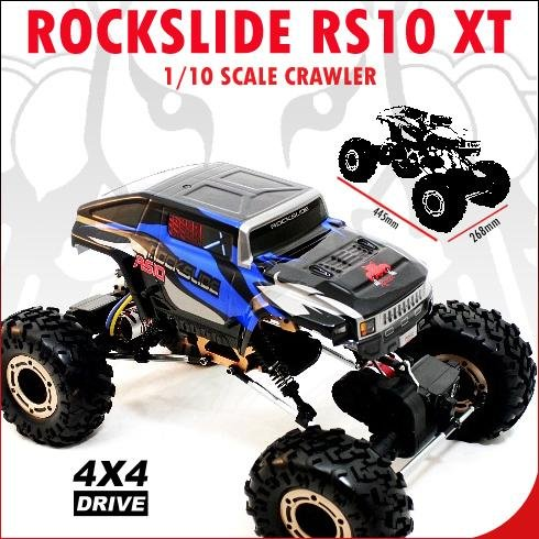 Rockslide RS10 XT 1/10 RC Car