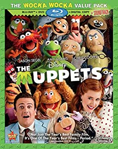 The Muppets (3-Disc Combo Pack + Soundtrack Download Card) [Blu-ray + DVD + Digital Copy] (Sous-titres français)