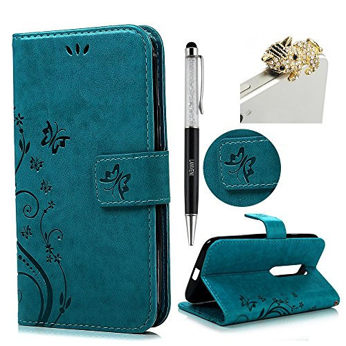 moto-g-3rd-generation-case-lanveni-stand-view-premium-pu-leather-wallet-flip-case-with-butterfly-flo