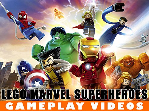LEGO Marvel Video Gameplay - Season 1