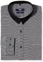 Basics Men's Formal Shirt (8907054867097_15BSH33228_Medium_Black)