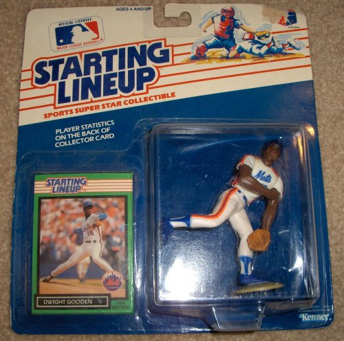 1989 Dwight Gooden MLB Starting Lineup Figure
