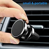Magnetic Phone Car Mount, MANORDS Universal Air Vent Cell Phone Holder 360°Rotation GPS Mount Compatible iPhone Xs Max Xs X 8 Plus 7 6s SE Samsung Ga