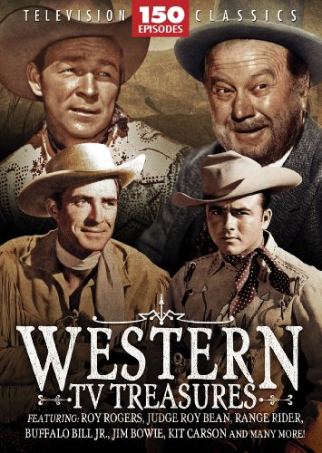 Cover art for  Western TV Treasures- 150 Episodes