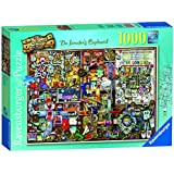 "Ravensburger ""Colin Thompson The Inventors Cupboard"" Jigsaw Puzzle (1000-Piece, Multi-Colour)"