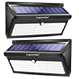 Luposwiten 100 LED Solar Lights Outdoor, 2000 Lumens Waterproof Wireless Solar Motion Sensor Lights Light with 125° Motion Angle,Easy-to-Install Security Light for Front Door,Yard,Garage,Deck (2-Pack) (Color: 100 Led 2 Pack, Tamaño: 100LED 2Pack)
