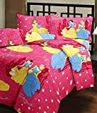 Ecraftindia Beautiful Princess Kids Single Bed Reversible Ac Blanket