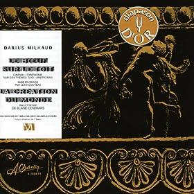 Darius Milhaud, Le boeuf sur le toit, La cr�ation du monde