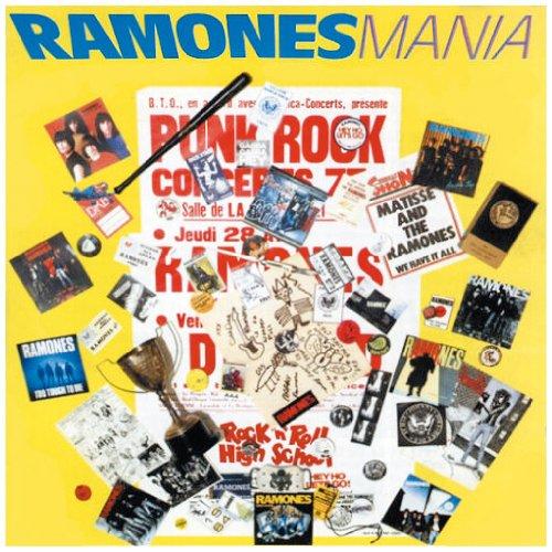 Ramones Mania artwork