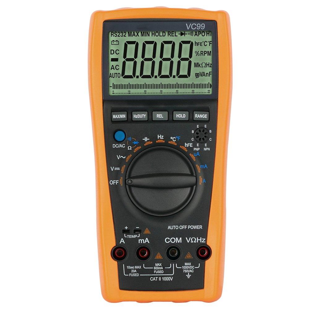 Digital Voltmeter Symbols : Proster vc digital multimeter voltmeter ammeter