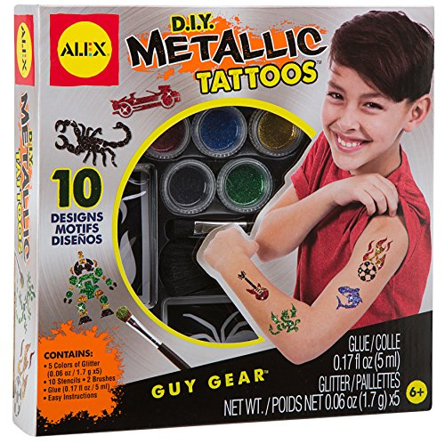 ALEX Toys Guy Gear, Metallic Tattoos (Tattoo Kit For Kids compare prices)