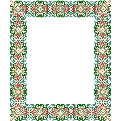 Amazon.com - Picture Matting-Celtic Flower Design Border