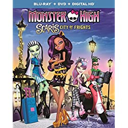 Monster High: Scaris, City of Frights [Blu-ray]