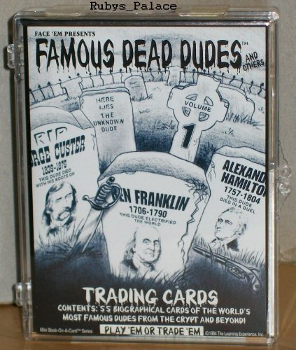 Famous Dead Dudes and Others Trading Cards 1994