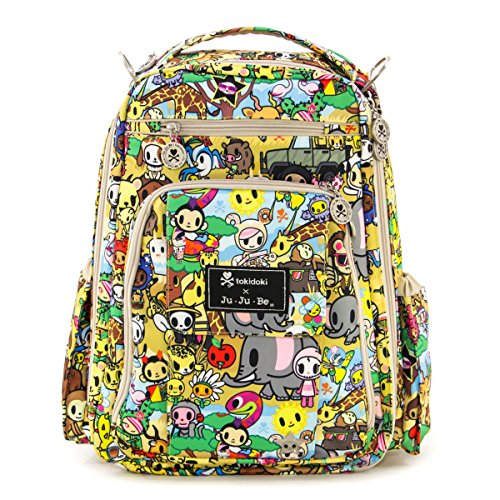 ju ju be be right back tokidoki collection backpack diaper bag animalini baby shop. Black Bedroom Furniture Sets. Home Design Ideas