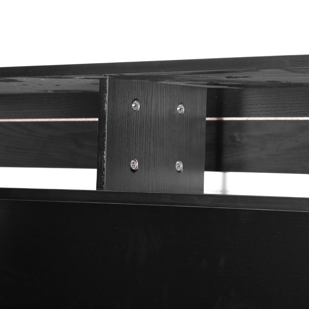 "Erfect 48"" Floating TV Stand Wall Mount Media Console Storage video Center Black"