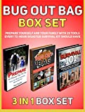 img - for Bug Out Bag Box Set: Prepare Yourself and Your Family With 25 Tools Every 72-Hour Disaster Survival Kit Should Have (Bug Out Bag, bug out bag books, bug out bag essentials) book / textbook / text book