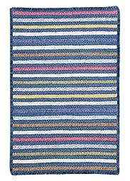 Seascape Rug, 4 by 6-Feet, Morning Dew