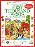 First Thousand Words in Portuguese (Usborne First Thousand Words)