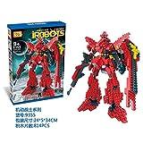 New LOZ Diamond Block I Robots Gundam D Series 19cm 814pcs #9355 Parent-child Games Building Blocks Children's Educational Toys