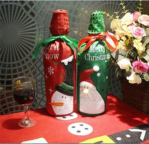 2-in-1-weihnachten-bling-glitzer-rot-wein-flasche-santa-claus-schneemann-elch-geschenkpapier-kordelz