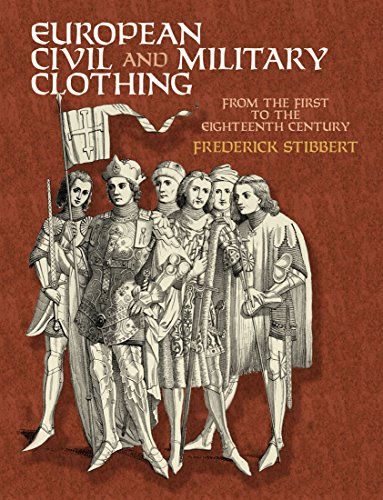 European Civil and Military Clothin (Dover Fashion and Costumes)
