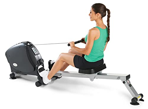 Benefits of regular exercise on a rowing machine