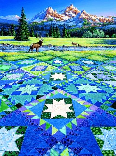 Cheap SunsOut MINI – Mountain Vigil Mini 7×9 100pc Jigsaw Puzzle by Rebecca Barker (B004HSAOGG)