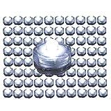BlueDot Trading Submersible Tea Lights White 96-Pack