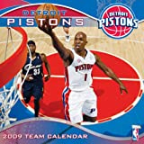 NBA Detroit Pistons 2009 Team Calendar