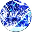 Startonight Glass Wall Art Acrylic Decor Blue and White, 5 Stars Gift Â¿ 23.62 Inch the Ultimate Wall Art!